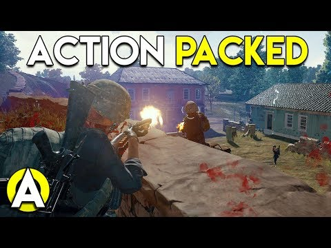 ACTION PACKED - PLAYERUNKNOWN'S BATTLEGROUNDS (Duo gameplay)
