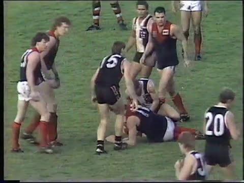 St Kilda vs Melbourne rd 9 1988