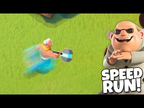 TRYING to get the Boom Beach Speed Run World Record!