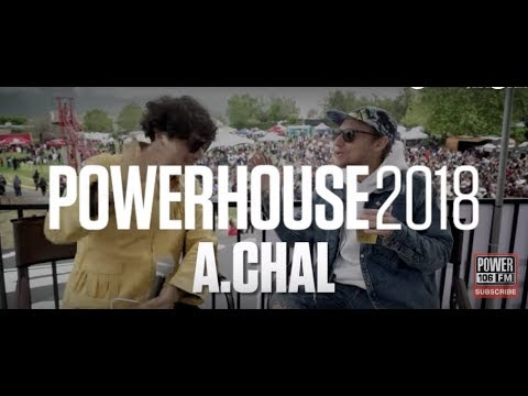 A.CHAL Talks 2 Chains & Nicki Jam Collab On Love & Hennessy & Selena Hologram