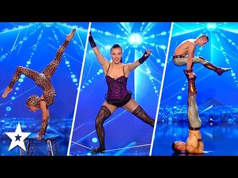 TOP 10 Amazing Acrobatics on Romania's Got Talent 2017