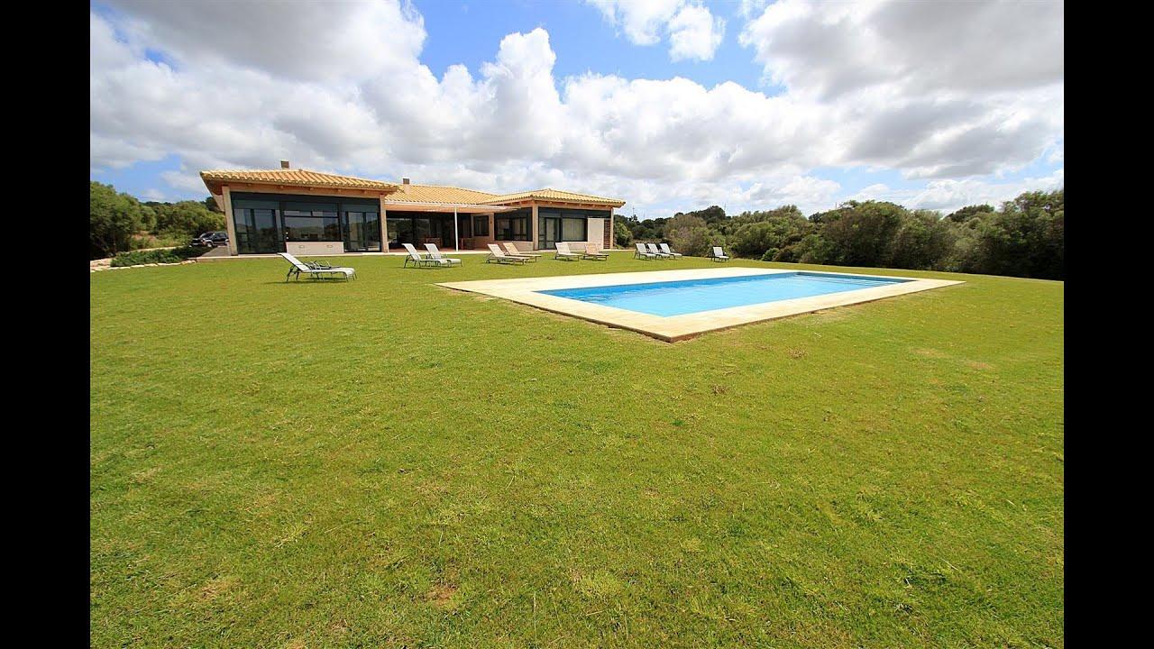 Casa de lujo con dom tica avanzada en menorca youtube - Casas en menorca ...