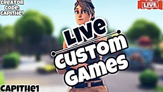 🔴 CUSTOM GAMES Solo TURNIER WITH 50€ PRICE 🔴 | FORTNITE LIVE ENGLISH 🔴| BATTLE PASS VERLOSU