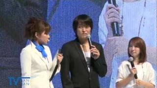 千原ジュニア、山本梓登場「GREE×吉本興業」企画  TGS2011 山本梓 動画 23