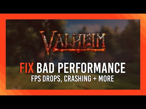Fix performance issues | Stuttering, FPS Drops + More | Valheim