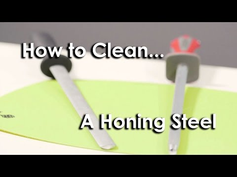 Quick Tip #3 - How to Clean a Honing Steel