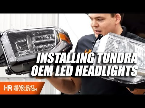 Updated: Installing Toyota Tundra OEM LED Headlight Housings 2014-2018