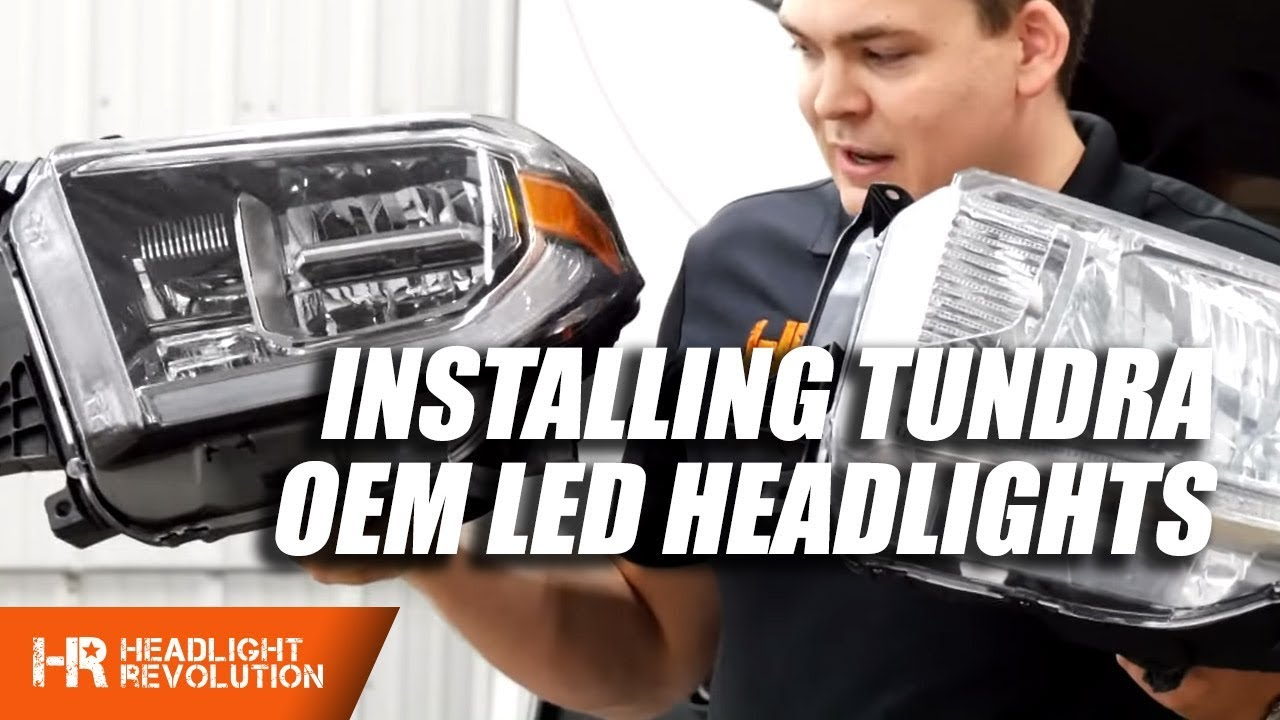 Updated Installing Toyota Tundra Oem Led Headlight Housings 2014 Sequoia Wiring Diagram 2018