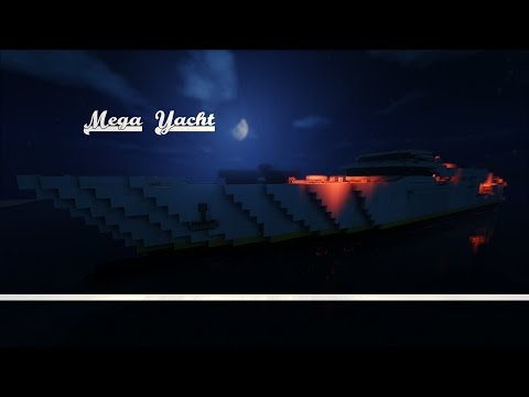 Minecraft: Mega Yacht (Speed Build)