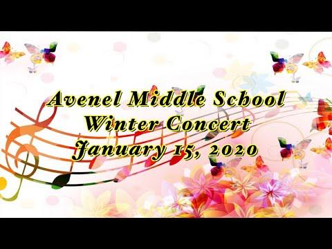 Avenel Middle School, winter concert: 2020