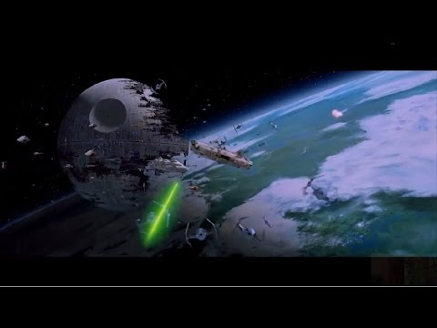 Star Wars: Return of the Jedi VI - Battle of Endor (Space Only) 1080p fragman