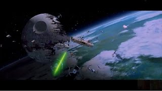 Star Wars: Return of the Jedi VI - Battle of Endor (Space Only) 1080p