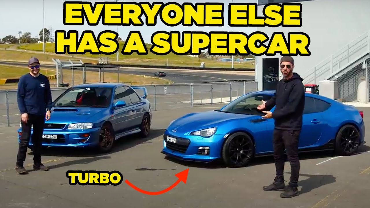 Taking a Subaru to a Super Car Meet (CHOPPED!!)