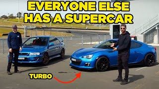Taking a Subaru to a Super Car Meet (CHOPPED!!)