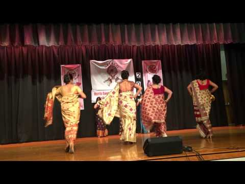 Gohona- A portrait of Assamese Attire.  New Jersey Bihu 2016// FASHION SHOW