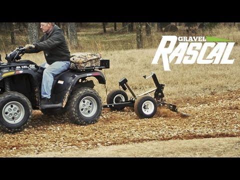 Gravel Rascal - ATV Driveway Grader & Landscape Rake