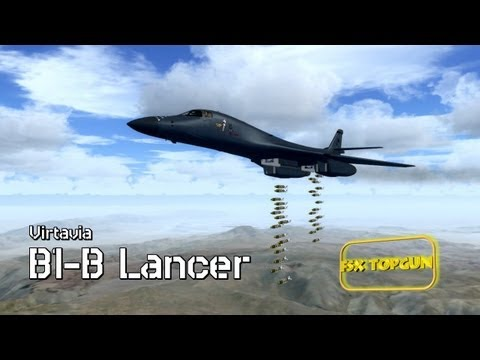 FSX B-1B Lancer (Rockwell) - USAF Supersonic Strategic bomber