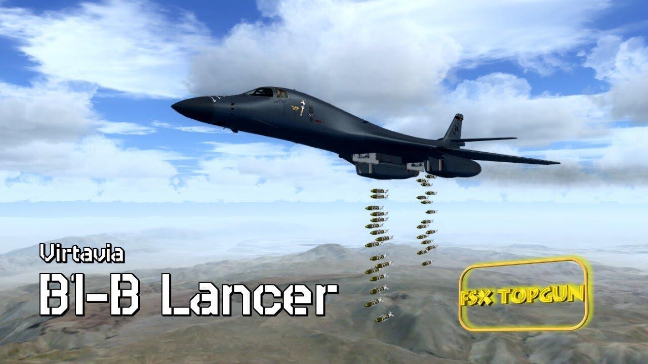 FSX B-1B Lancer (Rockwell) - USAF Supersonic Strategic bomber