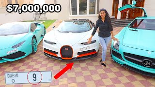 Taking Delivery of a Bugatti Chiron with a $7,000,000 Plate Number !!!