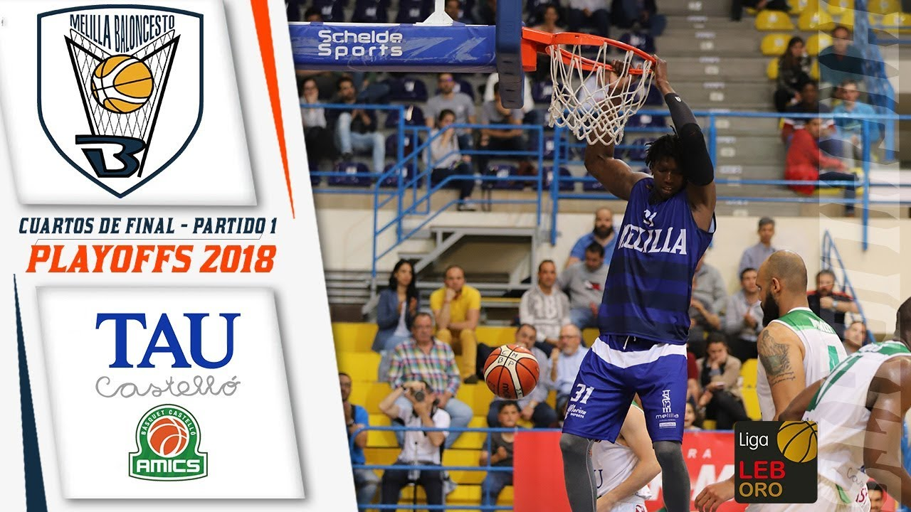 HIGHLIGHTS   Club Melilla Baloncesto - TAU Castelló (PO - CUARTOS DE ...