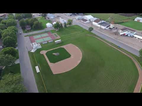 Central Minnesota Christian School & Prinsburg (Drone Footage)