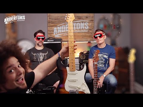 Blindfold Fender Strat Challenge - Can We Tell a £300 Guitar from a £3000 one?!?