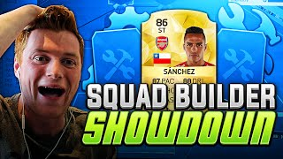 FIFA 16 - STRIKER SANCHEZ SQUADBUILDER SHOWDOWN!!!