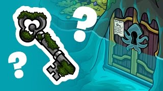 Club Penguin Rewritten - How to Get the Moss Key
