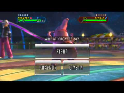 Pokemon Battle Revolution- WiiU Quality Test.