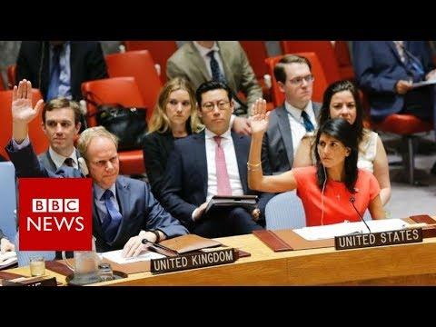 North Korea vows to retaliate against US over sanctions - BBC News