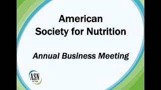 ASN Business Meeting 2018 thumbnail