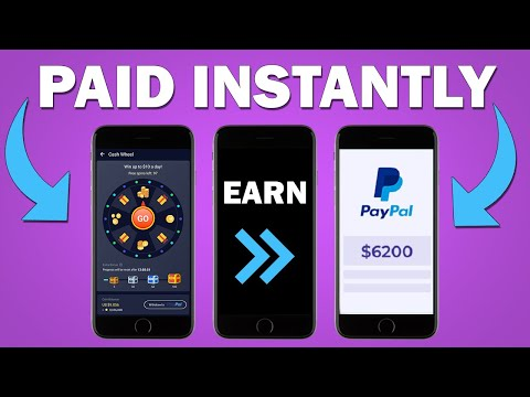 TOP 7 APPS That Pay You FREE PAYPAL MONEY Instantly - NO WORK