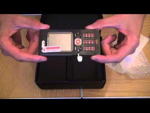 Посылка из Китая - телефон Sony Ericsson W880i