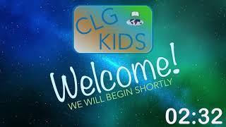 CLG Kids May 2 Lesson