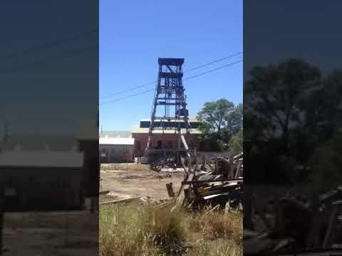 Headgear | De Beers Mine Kimberley View 1 | Wreckers Dismantling