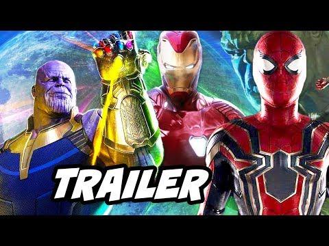 Avengers Infinity War Trailer Footage Breakdown and Easter Eggs