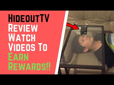 Hideout TV Review - Watch Videos To Earn Rewards!!
