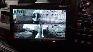HGV 4 Channel DVR with Screen