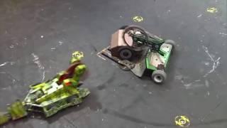 Đấu Trường Robot - Máy chém Noxus vs Tắc kè hoa