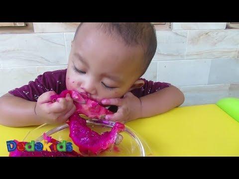 drama-anak-kecil-lucu- -arkhan-makan-buah-naga- -dedekids