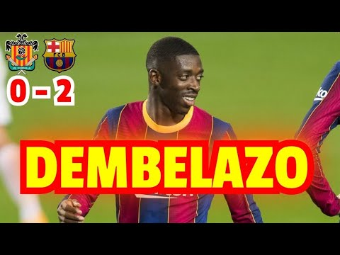 Download CORNELLÀ VS BARCELONA 0-2 | RESUMEN DEL PARTIDO | COPA DEL REY ESPAÑOLA 2021