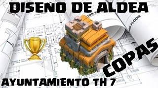 DISEÑO DE ALDEA AYUNT 7 COPAS - Anikilo - Clash of Clans - Español - CoC