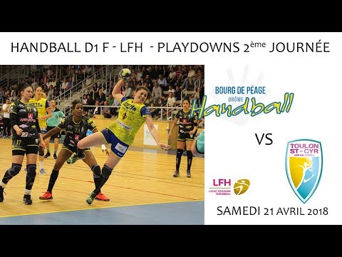 2018 04 21 Rencontres Sportives   Championnat LFH Playdowns 2éme journée   BDP vs TOULON