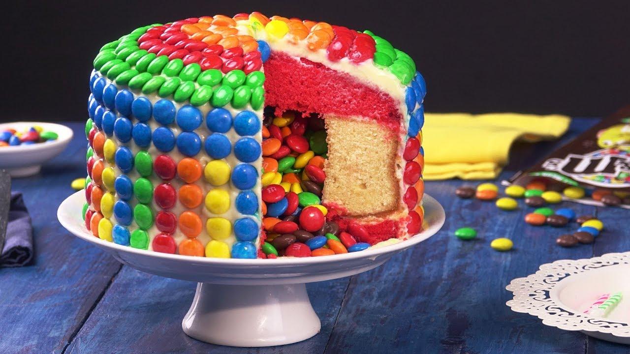Uberraschungskuchen Mit Fullung Ist Ein Kuchen Rezept Dass Jede