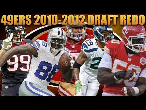 San Francisco 49ers 2010-2012 Nfl Draft Redo! Madden 18 49ers Franchise Experiment!
