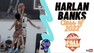 6'3 G Harlan Banks - DIFFERENT 2022 - St Francis Hs - WCE Utah Fall Classic