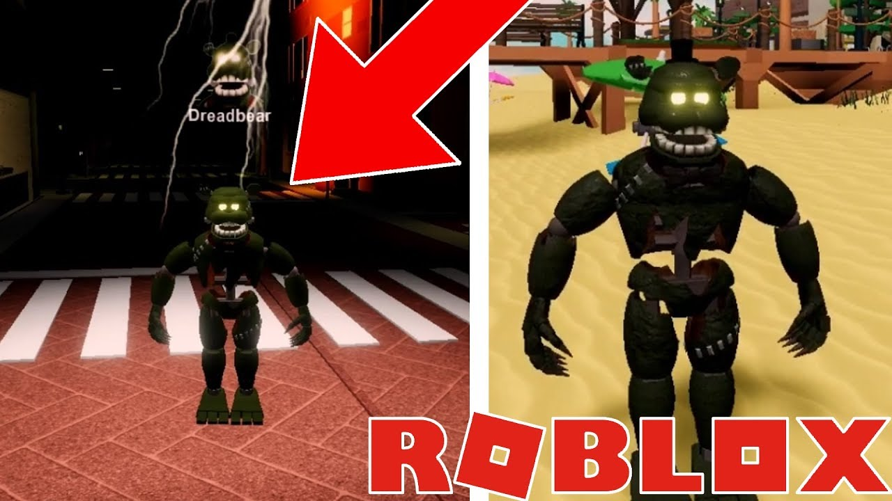Roblox Fnaf Pizzeria Rp Remastered How To Unlock Dreadbear New Animatronic Five Nights At Freddys - creating fan animatronics and funtime freddy in roblox the pizzeria roleplay remastered