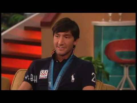Olympic Gold Medalist Evan Lysacek - THE BONNIE HUNT SHOW