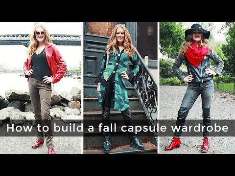 Fall capsule wardrobe for women over 40 - Fall Style Guide 2018 for women over 40
