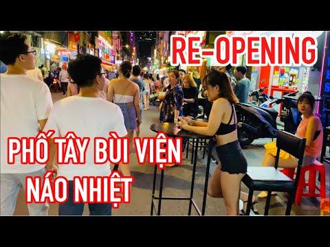 🔴 N.ÁO NHIỆT PHỐ ĐI BỘ BÙI VIỆN I RE-OPENING BUI VIEN WALKING STREET I May 16,2020